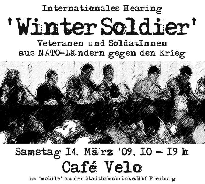 Plakat Hearing 14.3.2009